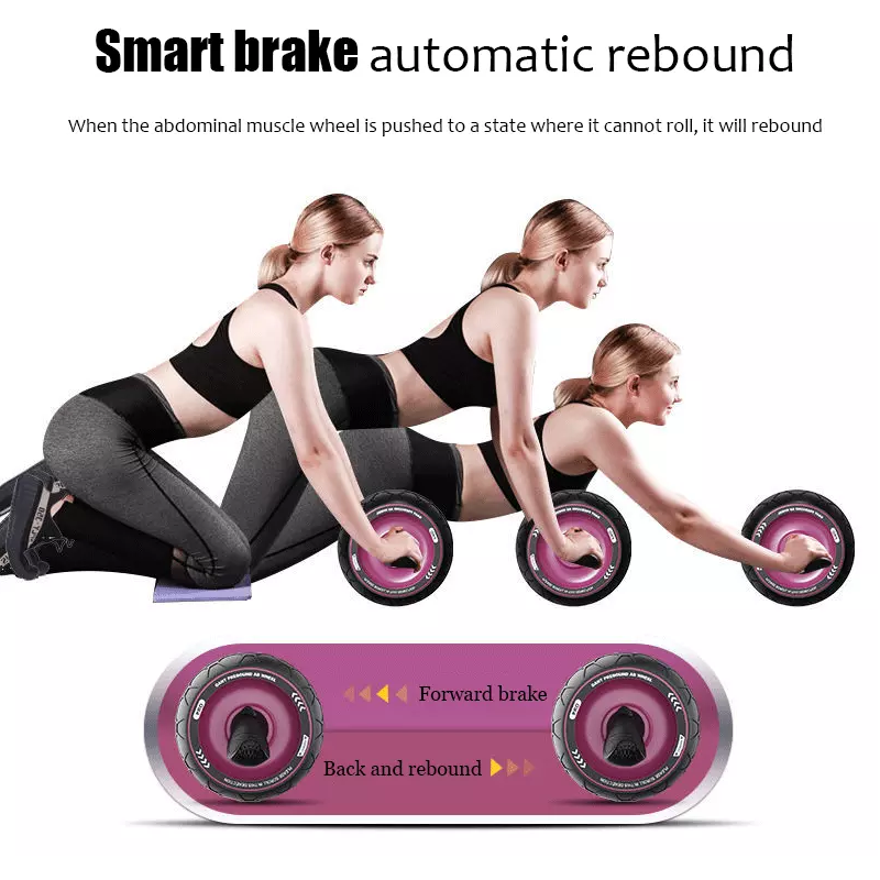 No-Noise-Abdominal-Muscle-Trainer-Ab-Roller-Abdominal-Wheel-Home-Training-Gym-Fitness-Equipment-Roller